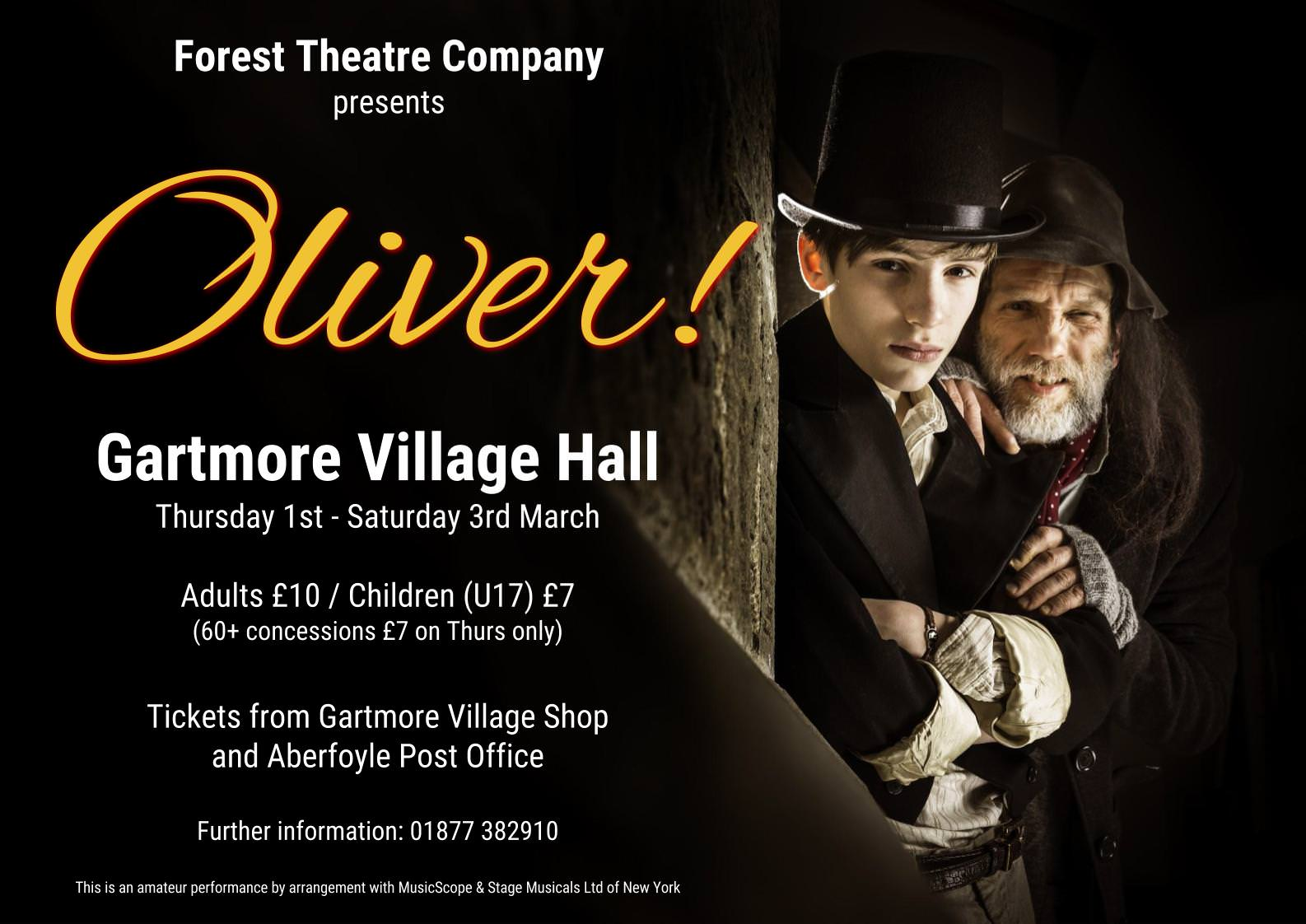 Oliver by Forest Theatre Group