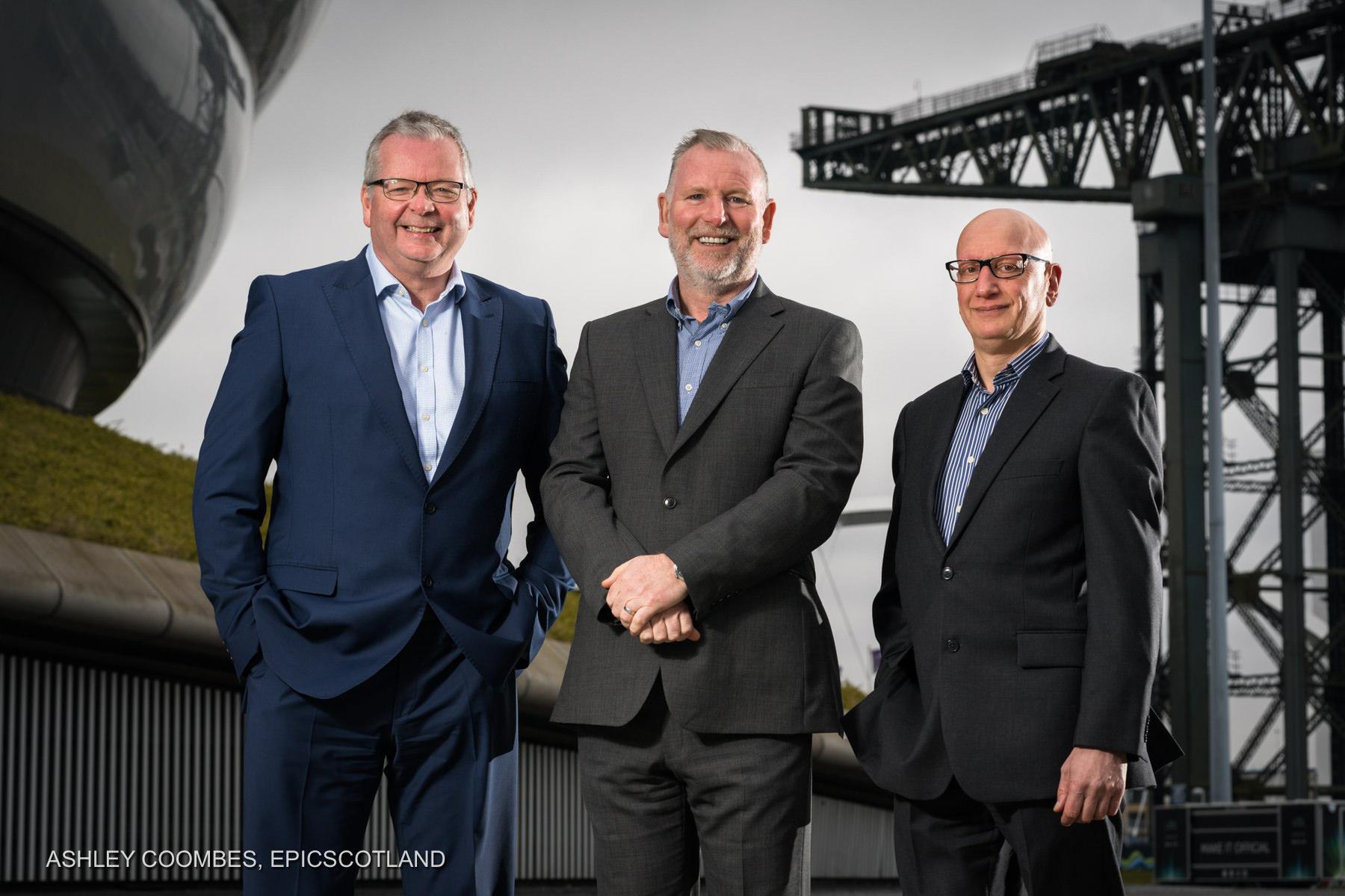 Kick ICT Group Portrait in Glasgow