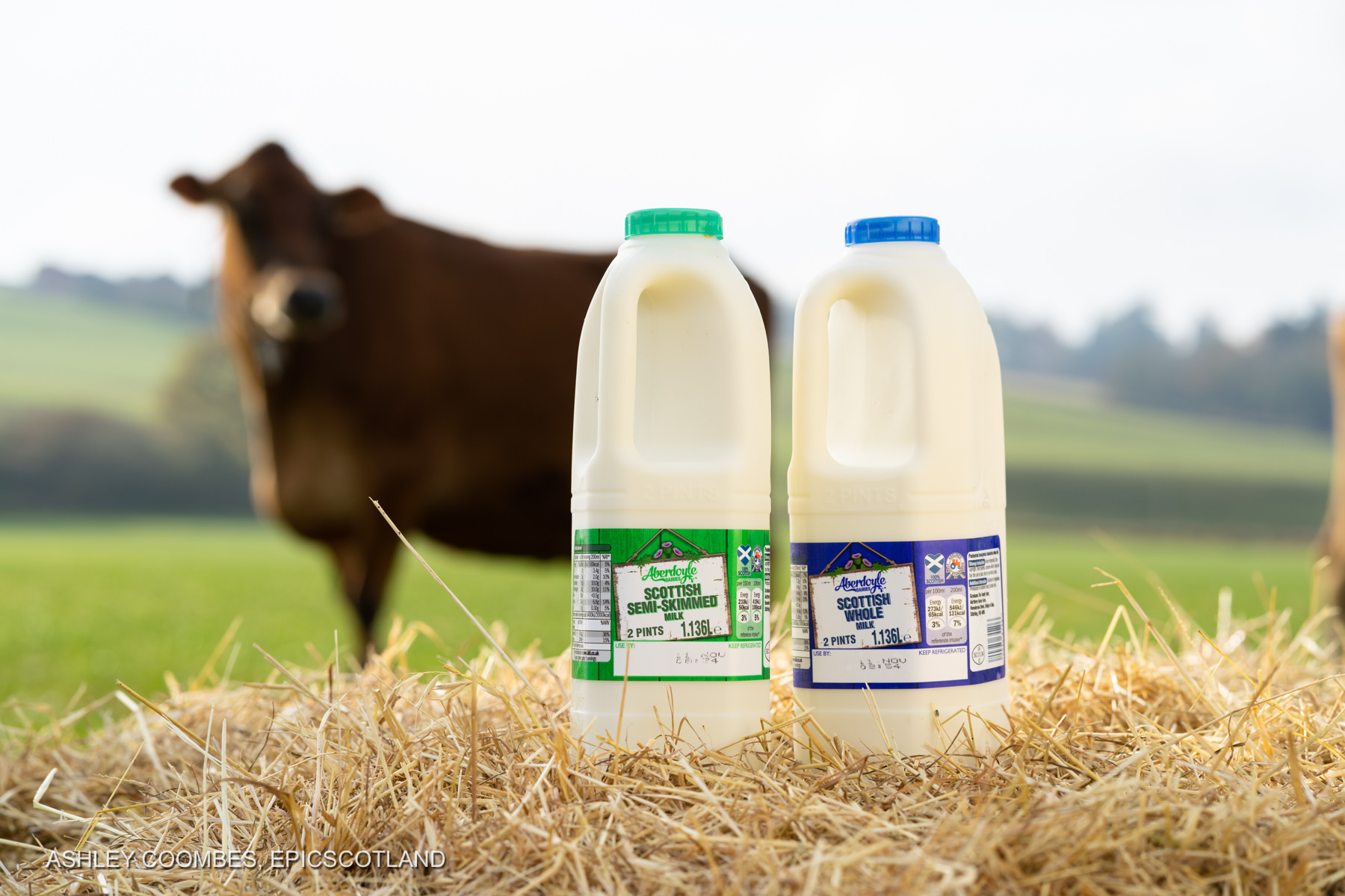 Product photography Graham's Dairy Farm Epic Scotland Photography
