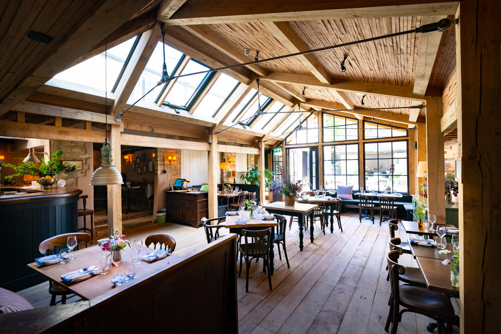 Cotswolds pub dining room