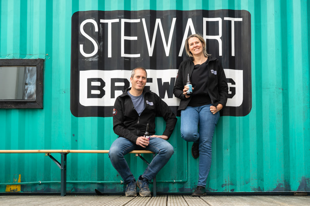 Stewart Brewing founders