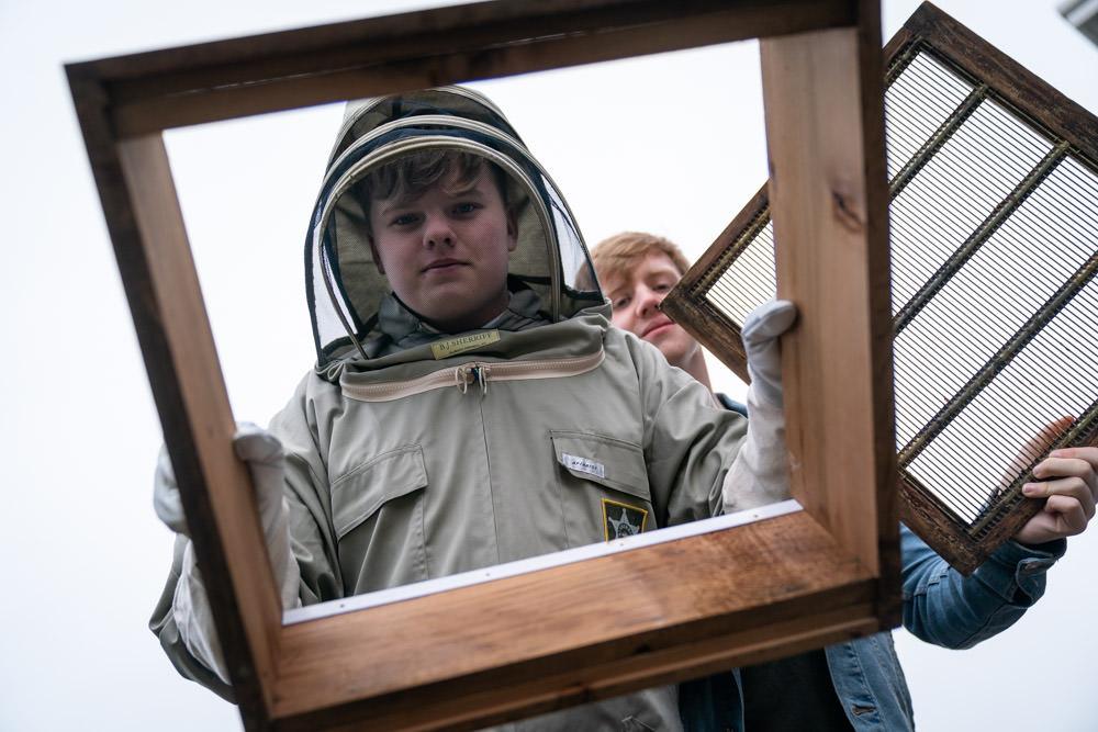 beekeeping Education Photographer Scotland
