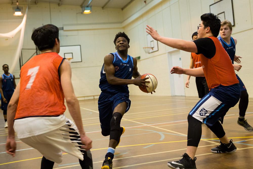 school basketball