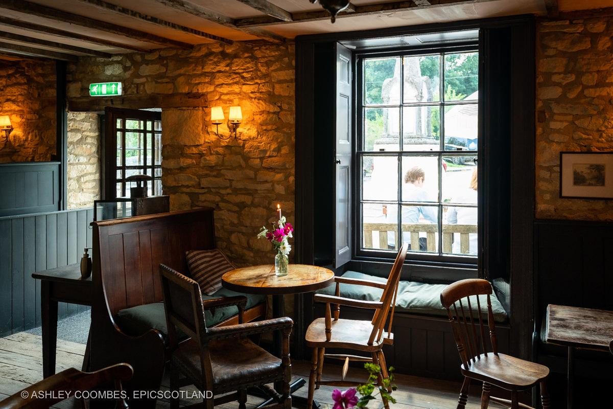 Cotswold pub bar