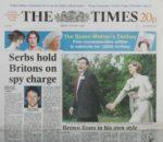 Gordon Brown wedding day