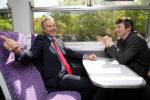 Tony Blair and Ian Rankin