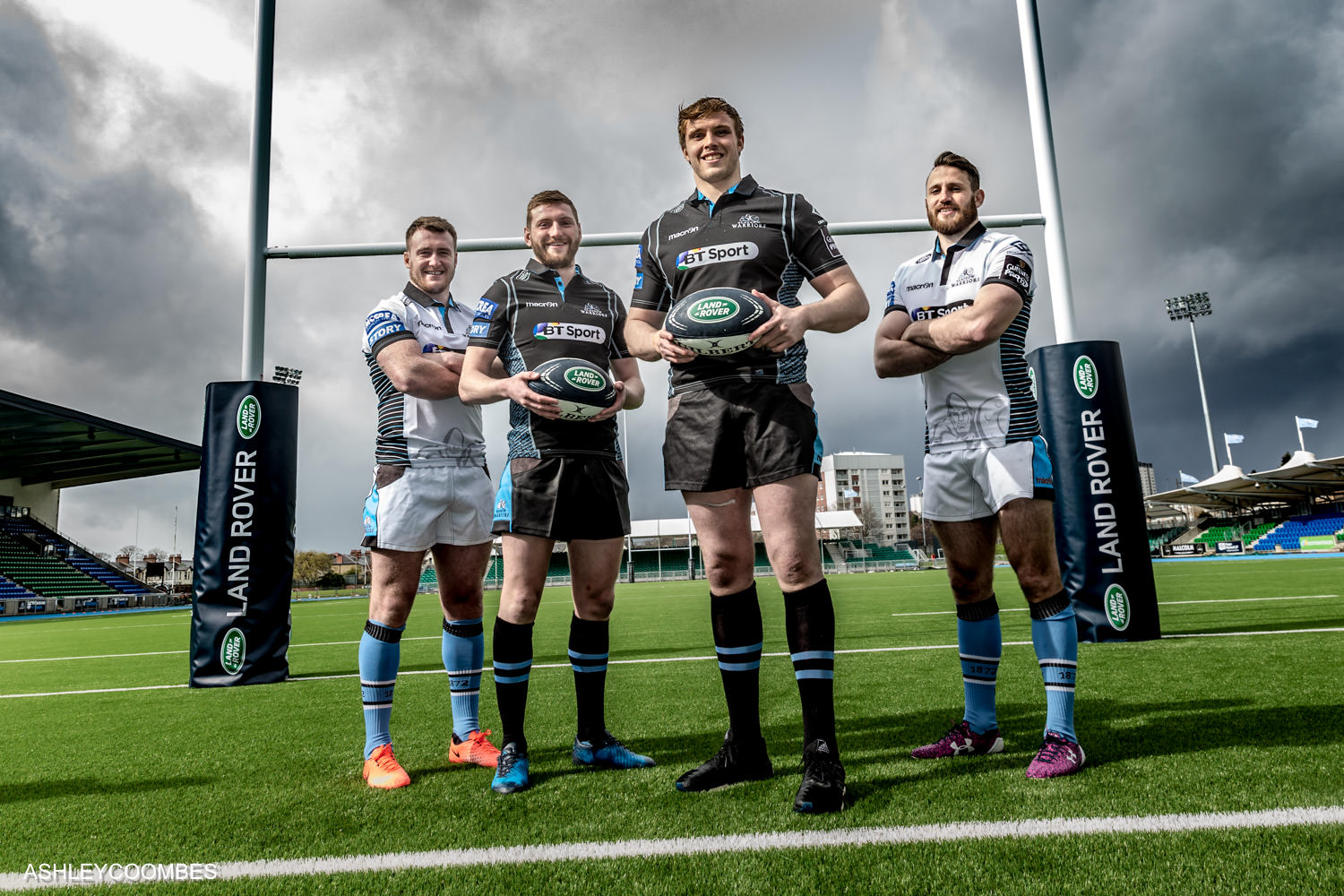 land rover sponsors glasgow warriors ashley coombes. Black Bedroom Furniture Sets. Home Design Ideas